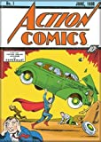 Action Comics 1 -Superman and Car DC Comics Refrigerator Magnet