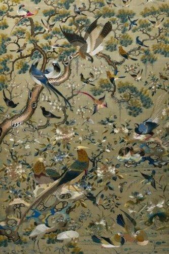 Journal: Chinese Silk Tapestry - Birds