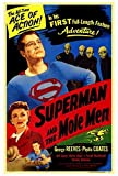 Superman And The Mole Men Movie POSTER 27 x 40 George Reeves, Phyllis Coates, A, MADE IN THE U.S.A.