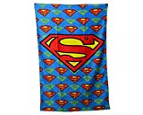 Superman Character Printed 100% Cotton Beach Towel