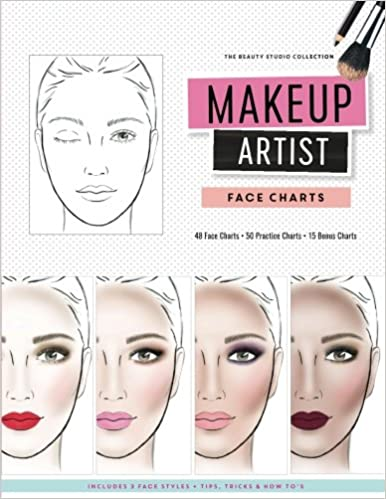 Makeup Artist Face Charts The Beauty