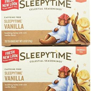 Celestial Seasonings Sleepytime Vanilla Tea Bags, 20 ct, 2 pk