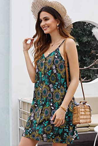Sleeveless Casual Mini Dress