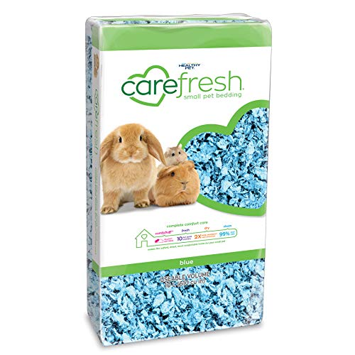 Carefresh Blue Small pet Bedding, 10L (Pack May Vary)