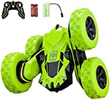 Remote Control Car, RC Stunt Car, 360 Degree Flips Double Sided Rotating Tumbling High Speed 15km/h and 2.4GHz Remote Control Toys for Kids, Toy Cars for Boys and Girls Gifts