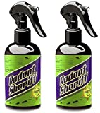 RODENT SHERIFF Pest Control Spray - Made in The USA - Ultra-Pure Mint Spray to Repel Rodents (2)
