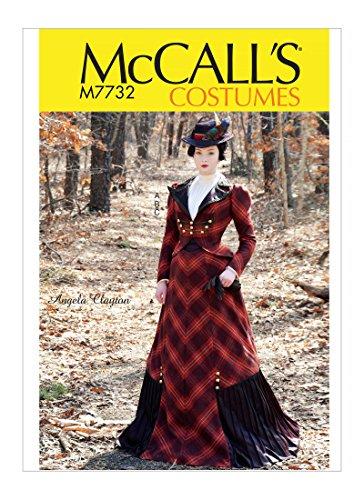 McCall\'s Patterns M7732 DD Misses Costume 1890\'s Ladies\' Walking ...