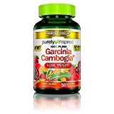 Purely Inspired Garcinia Cambogia+ Gummies, Supports Weight Loss, Natural Flavors, Delicious Fruit Burst 50 Count Gummies