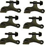 Nuk3y Hinge Pin Oiled Rubbed Bronze Heavy Duty Door Stop (6-Pack)