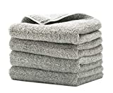 Happy Road Microfiber Towels for Cars, Super Soft Microfiber Cleaning Cloth, Premium Professional Microfiber Towels Lint Free, Microfiber Drying Towel for Car Interior Exterior/Home Use, Pack of 4