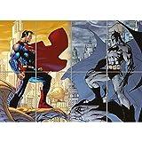 Doppelganger33 LTD Batman VS Superman Giant Wall Art Poster ST285