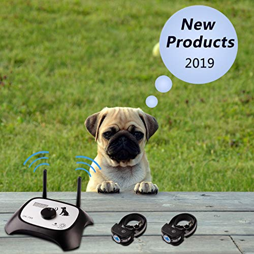 OKPET Wireless Dog Fence Electric Pet Containment System, Safe Effective...