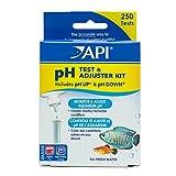 API pH test & Adjuster Kit 250-Test Freshwater Aquarium Water Ph test & Adjuster Kit