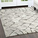 Home Dynamix Mauna Modern Area Rug, 5' x 7', Abstract Gray