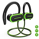 Bluetooth Headphones, HSPRO Wireless Sport Earbuds, 8GB Built-in Memory MP3 Player, IPX5 Sweatproof Running Workout Headphones w/Mic, HD Stereo Sound Sport Earphones Earbuds