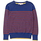 Product review for Mini Phoebee Little Girls' Long Sleeve Crew Neck Stripe Pullover Sweater