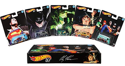 Hot Wheels Alex Ross Limited Edition Collector 5 Pack - LOW PRICE!