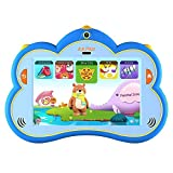 Kids Tablet, B.B.PAW 8 inch 1G+16G Eye-protection Whole Brain Education Tablet for Kids with 90+ Preloaded Learning and Training Apps