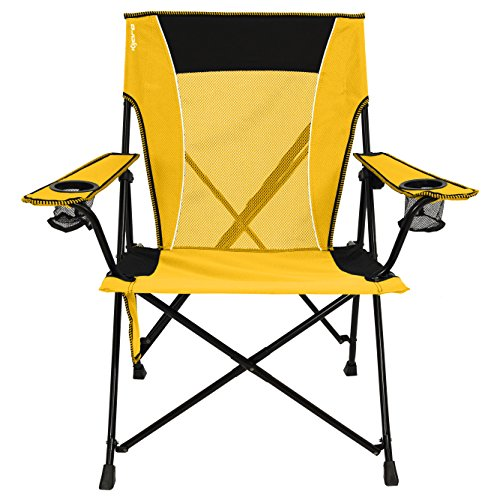 Kijaro Dual Lock Portable Camping and Sports Chair, Izamal Yellow