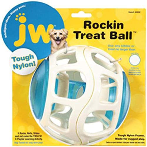 JW Pet Company Rockin Treat Ball for Dogs 1