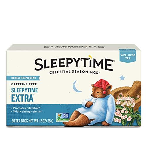 Celestial Seasonings Wellness Tea, Sleepytime Extra, 20 Count (Pack of 6)