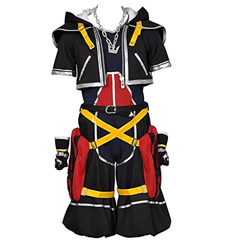 Kingdom Hearts Sora Halloween Town Costume.Kingdom Hearts Cosplay Costumes Fancy Costume Madness