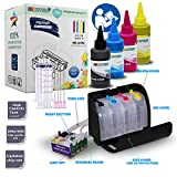 INKUTEN 400ml Hi-Definition Sublimation Ink CISS for Workforce WF-7210 WF-7710 WF-7720 Printer Continuous Ink System