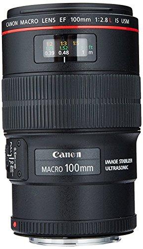 Canon EF 100mm f/2.8L IS USM Macro Lens for Canon Digital SLR Cameras, Lens Only