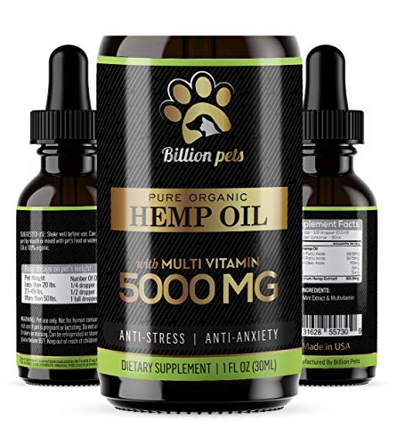 Billion-Pets-Hemp-Oil-Dogs-Cats-5000mg-Separation-Anxiety-Joint-Pain-Stress-Relief-Arthritis-Seizures-Chronic-Pains-Anti-Inflammatory-Omega-3-6-9-100-Organic-Calming-Drops