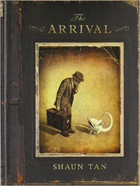Image result for THE ARRIVAL SHAUN TAN