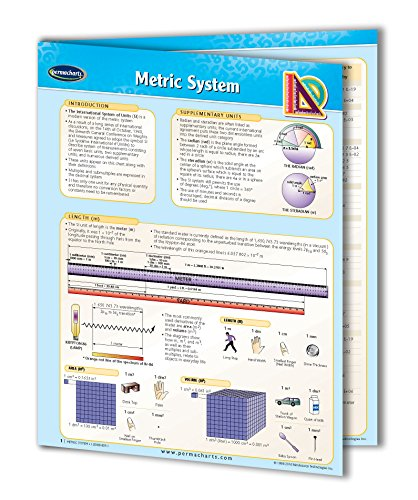 Metric System Chart Guide - Quick Reference Guide by Permacharts
