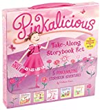The Pinkalicious Take-Along Storybook Set: Tickled Pink, Pinkalicious and the Pink Drink, Flower Girl, Crazy Hair Day, Pinkalicious and the New Teacher