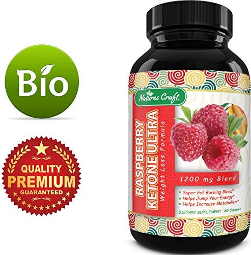 Blend Of Raspberry Ketones, Green Tea Extract And African Mango, Lose Weight Faster with Natural Ingredients To Speed Up Weight Loss, Suppress Appetite & Burn Fat, 60 Capsules 5