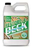 Restore-A-Deck Wood Stain for Decks, Fences, Wood Siding (1 Gallon, Cedar)