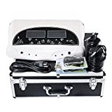 iMeshbean Latest Professional Dual Detox Machine Cell Ion Ionic Foot Bath SPA CHI FIR Belt with 2 Arrays Model # 004