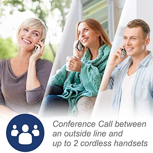 VTech CS6719-2 2-Handset Expandable Cordless Phone with Caller ID/Call Waiting, Handset Intercom & Backlit Display/Keypad 20