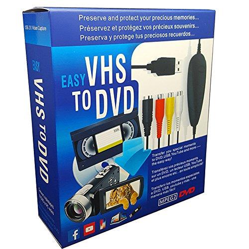 Lvozize VHS To Digital DVD Converter,...