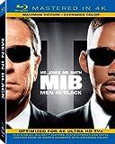 Men in Black (Mastered in 4K) (Blu-ray + UltraViolet)