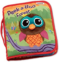 Peek-a-Boo Forest is an interactive soft book that allows your little explorer to learn about different animals that live in the forest. Each durable page has soft peek-a-boo flaps that are easy for little fingers to open and close, promoting hand-ey...
