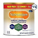 Enfamil Nutramigen Hypoallergenic Colic Baby Formula Lactose Free Milk Powder, 19.8 ounce...