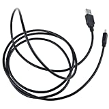 Digipartspower USB Cable Data PC/Charging Charger Cable Cord Lead for Cobra CDR 840 CDR840HD Drive HD Dash Cam 1080P FHD Camera