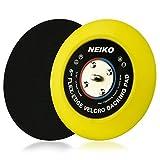 Neiko 30267A Flexible Edge Hook and Loop PU Backing Pad for DA Sander Polisher Buffer   6-Inch, 10,000 RPM, 5/16'-24 Thread