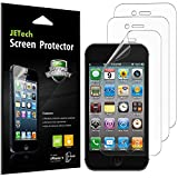 JETech Screen Protector for Apple iPhone 4 and iPhone 4s, PET Film, 3-Pack