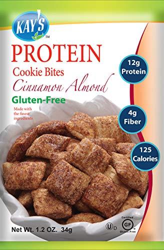 Kay's Naturals Protein Cookie Bites, Cinnamon...