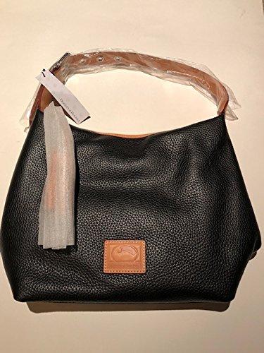 Dooney & Bourke Paige Sac Leather Hobo (Midnight Blue)