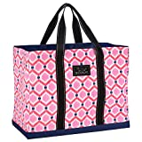 SCOUT Original Deano Large Tote Bag, For The Beach, Pool or Travel, Folds Flat, Water Resistant, Sturdy Base, Interior Key Ring, Bee's Knees