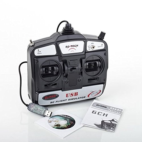 C&C Products DYNAM 6CH 3D RC Helicopter USB Flight Simulator Mode 2