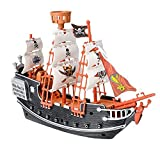 Rhode Island Novelty 10' Pirate Boat | One Per Order