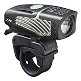 NiteRider Lumina Micro 750 USB Rechargeable MTB Road Commuter LED Bike Light Lumens Water Resistant Bicycle Headlight, LED Front Light Easy to Install Cycling Safety