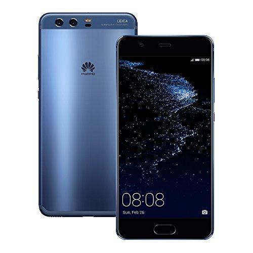 Huawei P10 Plus VKY-L29 6GB RAM / 128GB ROM 5.5-Inch 4G LTE Dual SIM FACTORY UNLOCKED - International Stock No Warranty (BLUE)